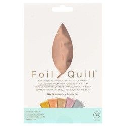 FOIL GOLD SHINING STARLING PARA QUILL FOIL 10.1 X 15.2cm