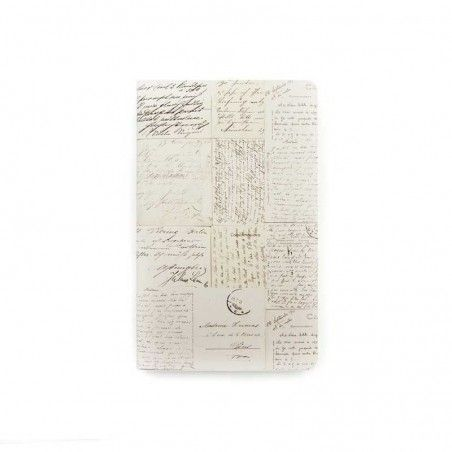 CUADERNILLO PARA TRAVEL JOURNAL OLD LETTERS
