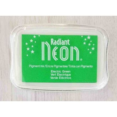 "TINTA INKPADS RADIANT NEON ""ELECTRIC GREEN"""