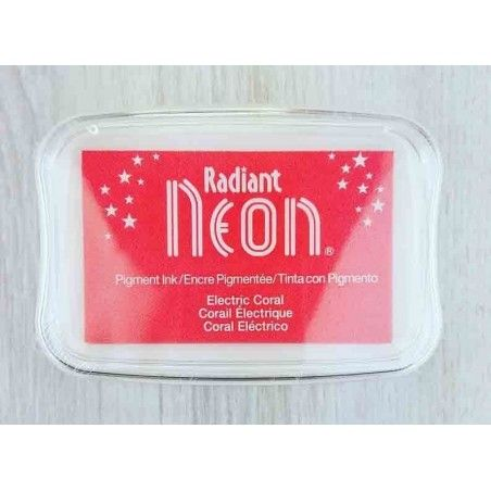 "TINTA INKPADS RADIANT NEON ""ELECTRIC CORAL"""
