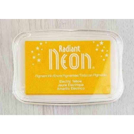 "TINTA INKPADS RADIANT NEON ""ELECTRIC YELLOW"""