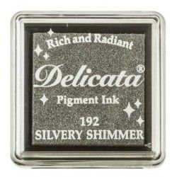 "TINTA INKPADS DELICATE SMALL ""SILVERY SHIMMER"""