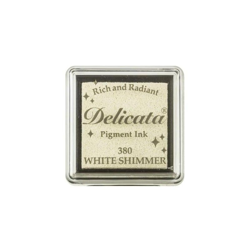"""TINTA INKPADS DELICATE SMALL """"WHITE SHIMMER"""""""