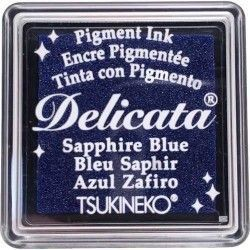 "TINTA INKPADS DELICATE SMALL ""SAPPHIRE BLUE"""