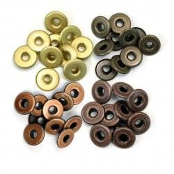 EYELETS ANCHOS COLORES...