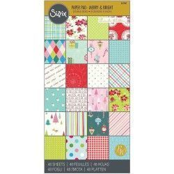 PAPEL SIZZIX MERRY & BRIGHT...