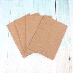CARTON CHIPBOARD 1,5MM A4