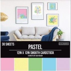 PAPEL CARDSTOCK LISO...