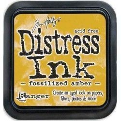 Tinta Distress Ink Fossilized Amber