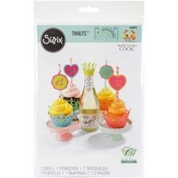 SET CUPCAKE WRAPPERS SIZZIX BY WHERE WOMEN COOK