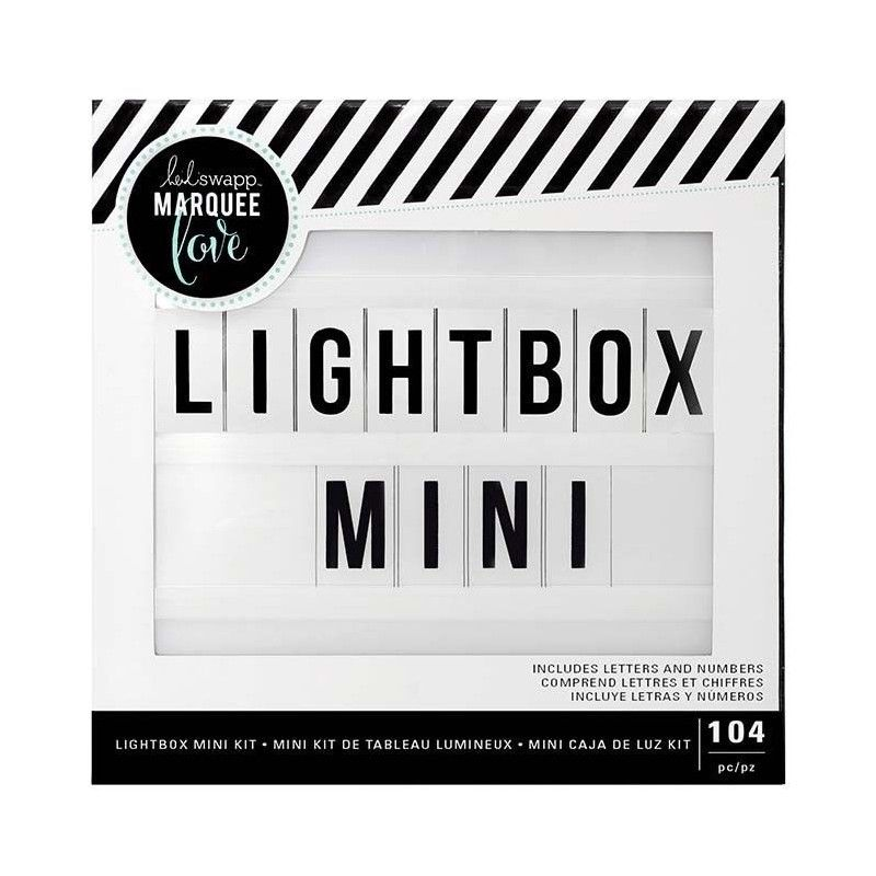 LIGHTBOX MINI BUNDLE HEIDI SWAPP MARQUEE LOVE (104 PCS)