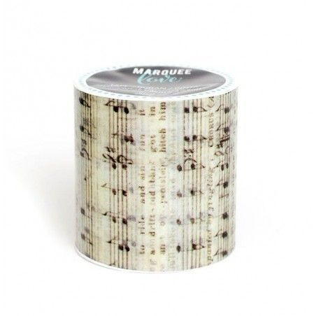 WASHI TAPE NOTAS MUSICALES MARQUEE LOVE